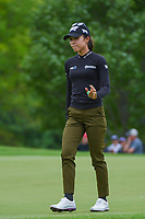 Lydia Ko (NZL) after sinking her putt on 2 during the round 2 of the KPMG Women's PGA Championship, Hazeltine National, Chaska, Minnesota, USA. 6/21/2019.<br /> Picture: Golffile | Ken Murray<br /> <br /> <br /> All photo usage must carry mandatory copyright credit (© Golffile | Ken Murray)