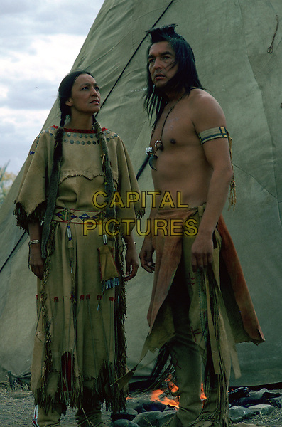Dances with Wolves (1990) <br /> Tantoo Cardinal &amp; Graham Greene<br /> *Filmstill - Editorial Use Only*<br /> CAP/KFS<br /> Image supplied by Capital Pictures
