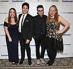 Jessica Kent, George Salazar, Joe Iconis and Jennifer Ashley Tepper during a reception for Theatre Forward's Chairman's Awards Gala at the Pierre Hotel on April 8, 2019 in New York City.