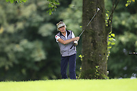 Christine McKee (Warrenpoint) during the final  of the Ulster Mixed Foursomes at Killymoon Golf Club, Belfast, Northern Ireland. 26/08/2017<br /> Picture: Fran Caffrey / Golffile<br /> <br /> All photo usage must carry mandatory copyright credit (&copy; Golffile | Fran Caffrey)