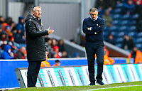 Hull City manager Nigel Adkins shouts instructions to his team from the technical area<br /> <br /> Photographer Alex Dodd/CameraSport<br /> <br /> The EFL Sky Bet Championship - Blackburn Rovers v Hull City - Saturday 26th January 2019 - Ewood Park - Blackburn<br /> <br /> World Copyright © 2019 CameraSport. All rights reserved. 43 Linden Ave. Countesthorpe. Leicester. England. LE8 5PG - Tel: +44 (0) 116 277 4147 - admin@camerasport.com - www.camerasport.com