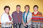 Banking on a great time at the Milltown Credit Union 40th anniversary celebrations in Milltown Community hall on Friday night l-r: Maureen Kerin, Martin, Sheila and Mary O'Sullivan
