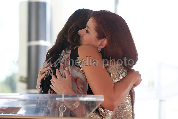 05 October 2017 - Hollywood, California - Mariska Hargitay, Debra Messing. Debra Messing Honored With Star On The Hollywood Walk Of Fame. Photo Credit: F. Sadou/AdMedia