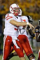 Nebraska Cornhuskers quarterback Sam Keller passes from the pocket at Memorial Stadium in Columbia, Missouri on October 6, 2007. The Tigers won 41-6.