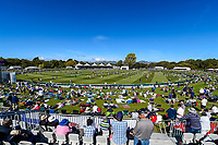 The fans get on to the paddock during Day 3 of the Second International Cricket Test match, New Zealand V England, Hagley Oval, Christchurch, New Zealand, 1st April 2018.Copyright photo: John Davidson / www.photosport.nz