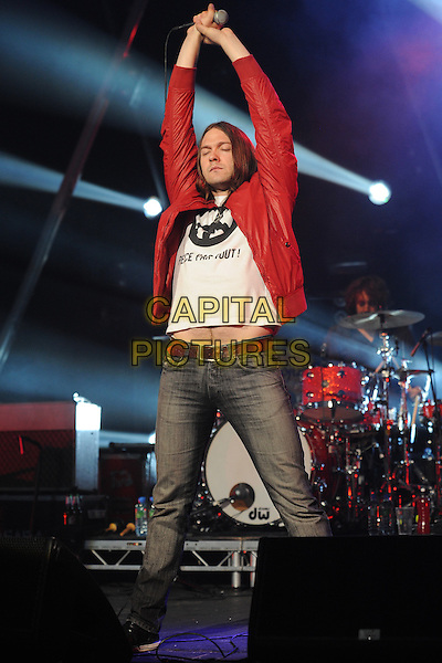 16/7/2009: Kasabian, Brixton Academy, London<br /> CAP/CK<br /> &copy;CK/Capital Pictures