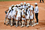 Japan team group (JPN), <br /> AUGUST 19, 2018 - Softball : Women's Preliminary Round between Japan - Hong Kong at Gelora Bung Karno Softball field during the 2018 Jakarta Palembang Asian Games in Jakarta, Indonesia. <br /> (Photo by MATSUO.K/AFLO SPORT)