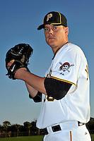 Feb 28, 2010; Bradenton, FL, USA; Pittsburgh Pirates  pitcher Chris Jakubauskas (39) during  photoday at Pirate City. Mandatory Credit: Tomasso De Rosa/ Four Seam Images