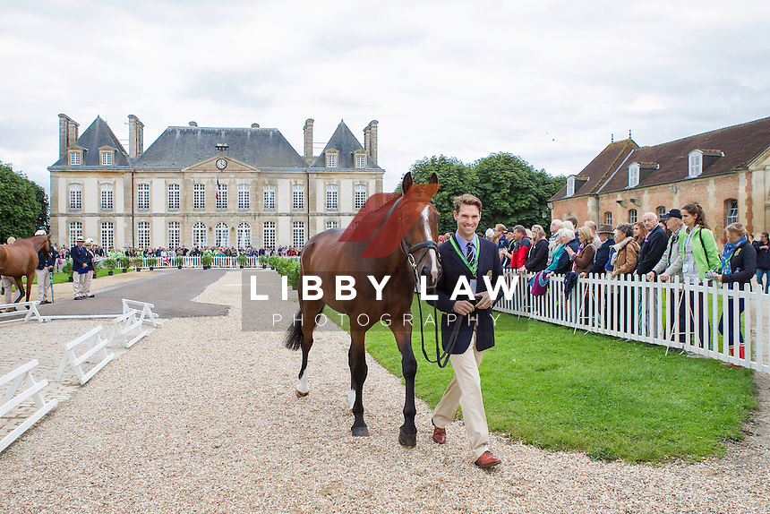 GBR-Harry Meade (WILD LONE) FIRST HORSE INSPECTION: EVENTING: The Alltech FEI World Equestrian Games 2014 In Normandy - France (Wednesday 27 August) CREDIT: Libby Law COPYRIGHT: LIBBY LAW PHOTOGRAPHY - NZL