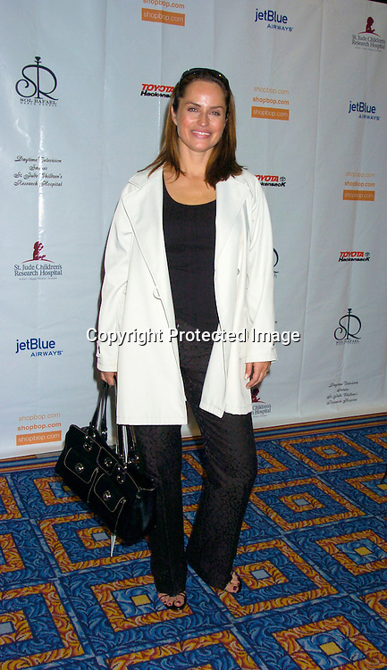 Crystal Chappell ..at the 10th Annual Daytime Television Salutes St. Jude Children's Research Hospital Benefit on October 8, 2004 at the Marriott Marquis Hotel in New York City...Photo by Robin Platzer, Twin Images