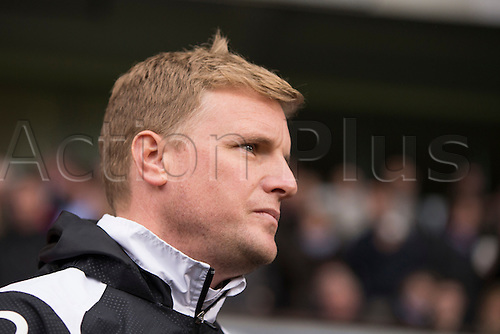 03.04.2015.  Ipswich, England. Skybet Championship. Ipswich Town versus AFC Bournemouth. Eddie Howe, the Bournemouth manager.