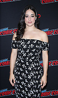 NEW YORK, NY - October 6:  Jeanine Mason  at New York Comic Con 2018 promoting The CW's  Roswell, New Mexico at the Jacob K. Javits Convention Center in New York City on October 06, 2018. <br /> CAP/MPI/RW<br /> &copy;RW/MPI/Capital Pictures