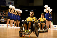 Opening Ceremony - Ryan Scott (Aus)<br /> Australian Wheelchair Rugby Team<br /> 2018 IWRF WheelChair Rugby <br /> World Championship / Day 1<br /> Sydney  NSW Australia<br /> Sunday 5th August 2018<br /> &copy; Sport the library / Jeff Crow / APC