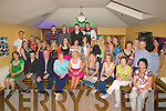 .21ST: Celebrtaions were in full swing in Stokers Lodge Tralee as Louise Hollywood, Farmers Bridge, Tralee celebrated her 21st Birthday with family and friends (Louise is seated 5th from left).....