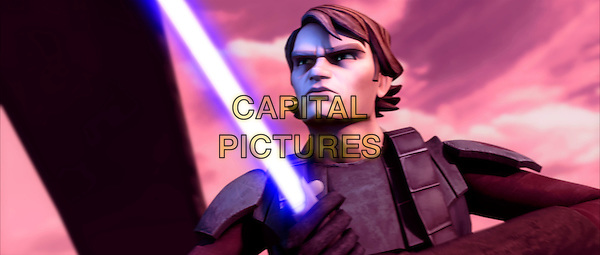 ANAKIN SKYWALKER (Matt Lanter) .in Star Wars: The Clone Wars.*Filmstill - Editorial Use Only*.CAP/FB.Supplied by Capital Pictures.