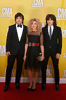 NASHVILLE, TN - NOVEMBER 1: The Band Perry on the Macy's Red Carpet at the 46th Annual CMA Awards at the Bridgestone Arena in Nashville, TN on Nov. 1, 2012. © mpi99/MediaPunch Inc. /NortePhoto