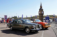 Nederland - Zandvoort - 8 juli 2018.    Het British Festival. Dit jaar staat het British Festival in het teken van de Grand Prix. Races op het Circuit van Zandvoort. Rolls Royces op de Paddock.     Foto Berlinda van Dam Hollandse Hoogte