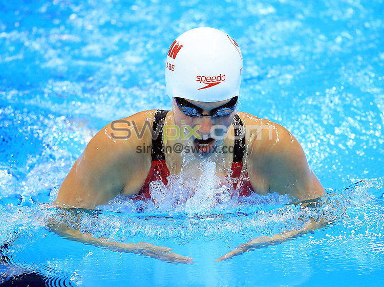 RIO DE JANEIRO, BRAZIL - AUGUST 10:  Martha McCabe of Canada competes in the Women's 200m Breaststroke Heats on Day 5 of the Rio 2016 Olympic Games at the Olympic Aquatics Stadium on August 10, 2016 in Rio de Janerio, Brazil.  (Photo by Vaughn Ridley/SWpix.com)