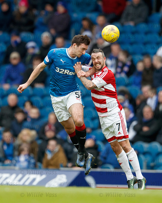 Lee Wallace and Dougie Imrie