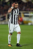 9th February 2018, Stadio Artemio Franchi, Florence, Italy; Serie A football, ACF Fiorentina versus Juventus; Gonzalo Higuain of Juventus disappointed