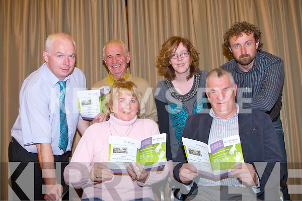 TRALEE CREDIT UNION AGM: Launching the Tralee Credit Union Accounts booklet and their Annual General Meeting which will be held at the Carlton hotel, Tralee on Monday 12th of December at 8:00pm seated l-r: Anna Brosnan and Peter Pierce (treasurer). Back l-r: Fintan Ryan (manager), Tom Lawlor,  Paddy Lange and Mary O'Connell.