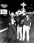 ZZ Top 1979 in Las Vegas.© Chris Walter.