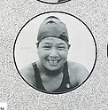 Hideko Maehata (JPN), 1932 - Swimming : .A portrait of Hideko Maehata of Japan. (Photo by Kingendai Photo Library/AFLO)[2373]