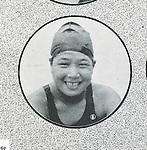 Hideko Maehata (JPN), 1932 - Swimming : .A portrait of Hideko Maehata of Japan. (Photo by Kingendai Photo Library/AFLO)[2373]