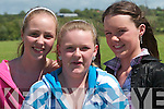 Enjoying the horse and pony show in Duagh on Sunday were friends Viki Roche, Shauna Stack and Colette Moloney.......   Copyright Kerry's Eye 2008
