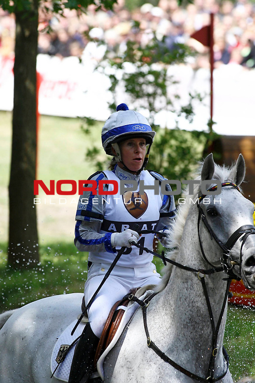 CCi der Vielseitigkeitsreiter CIC Milford Trophy - Pruefung Gel&auml;nde CCI 3* / ***<br /> <br /> Bettina Hoy (GER) mit Ringwood Cockatoo.<br /> <br /> Foto &copy; nph (  nordphoto  ) *** Local Caption ***