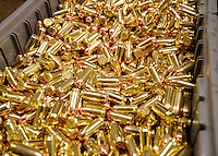 NWA Media/ J.T. Wampler - Wilson Combat reloads their own ammunition used to test firearms.