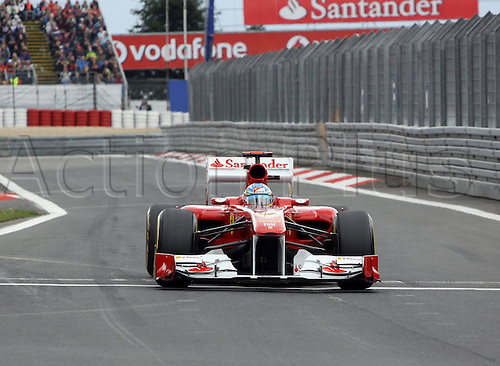 22 07 2011  Formula 1 GP Germany Nuerburgring Fernando Alonso Scuderia Ferrari motor racing Formula 1 Nuerburg Nuerburgring