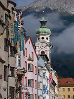 Spitalskirche, Maria-Theresien-Stra&szlig;e, Innsbruck, Tirol, &Ouml;sterreich, Europa<br /> Hospice-Church of the Holy Spirit, Maria-Theresien St., Innsbruck, Tyrol, Austria, Europe