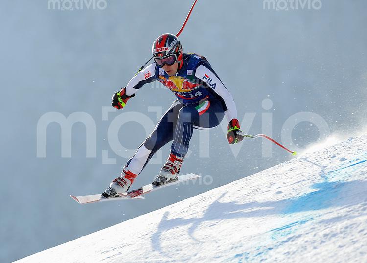 Ski Alpin;  Saison 2007/2008  22.01.2009 69. Hahnenkamm Rennen,  Abfahrt   2. Training   Peter Fill (ITA)