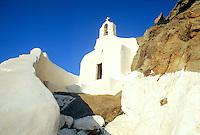 - Naxos island (Cyclades), votive ortodox chapel of Chrysostomos monastery..- isola di Naxos (Cicladi), cappella votiva ortodossa del monastero di Chrysostomos .