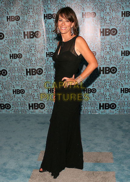 JANE KACZMAREK.HBO's Post Emmy Party following the 57th Annual Primetime Emmy Awards held at the Pacific Design Center, West Hollywood, California. .September 18th, 2005.Photo Credit: Zach Lipp/AdMedia/Capital Pictures.Ref: ZL.half length black sleeveless dress hand on hip.www.capitalpictures.com.sales@capitalpictures.com.© Capital Pictures.