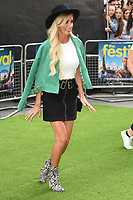 """Laura Anderson<br /> The premiere of """"The Festival"""" at Cineworld Leicester Square<br /> <br /> ©Ash Knotek  D3419  13/08/2018"""