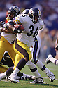 Pittsburgh Steelers Jerome Bettis (36) during a game from his 1997 season. Jerome Bettis played for 13 years with 2 different team, was a 6-time Pro Bowler and was inducted into the Pro Football Hall of Fame in 2015.