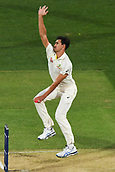 3rd December 2017, Adelaide Oval, Adelaide, Australia; The Ashes Series, Second Test, Day 2, Australia versus England; Mitchell Starc of Australia powers in to bowl