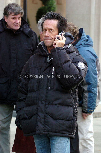 WWW.ACEPIXS.COM . . . . . ....November 2nd, 2006, New York City. ....Producer Brian Grazer on the set of his latest movie 'American Gangster' starring Russell Crowe and Denzel Washington. ....Please byline: AJ Sokalner - ACEPIXS.COM..... *** ***..Ace Pictures, Inc:  ..(212) 243-8787 or (646) 769 0430..e-mail: info@acepixs.com..web: http://www.acepixs.com