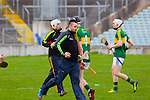 Warm up ahead of the Allianz Hurling League Division 2A Final, Westmeath v Kerry. Gaelic Grounds, Limerick, Saturday 4th April 2015.