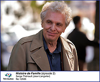 Serge Theriault dans  Histoire de Famille<br /> <br /> Editorial Only - for media use only<br /> Pour usage media (editorial)  Uniquement<br /> <br /> (c) Tele Quebec
