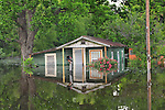 8/11/11} Vicksburg} -- Vicksburg, MS, U.S.No mail today or for a while in the north Kings Community that has been flooded by the Mississipppi River. A house on Chicksaw road is filling with water from the Mississippi River  May 11,2011. Vicksburg a riverfront town steeped in war and sacrifice, gets set to battle an age-old companion: the Mississippi River. The city that fell to Ulysses S. Grant and the Union Army after a painful siege in 1863 is marshalling a modern flood-control arsenal to keep the swollen Mississippi from overwhelming its defenses. PHOTO©SUZIALTMAN.COM.Photo by Suzi Altman, Freelance.