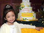 Nina Orenia celebrating her 5th birthday in the Glenside hotel. Photo: Colin Bell/pressphotos.ie