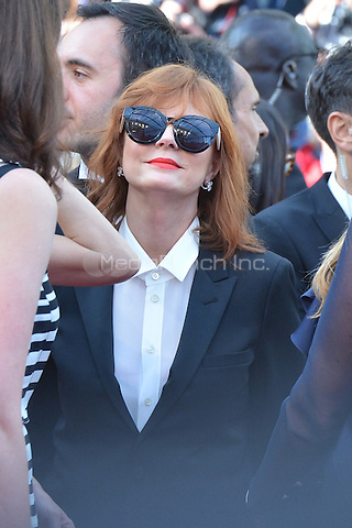 Susan Sarandon at &quot;Cafe Society&quot; &amp; Opening Gala arrivals - The 69th Annual Cannes Film Festival, France on May 11, 2016.<br /> CAP/LAF<br /> &copy;Lafitte/Capital Pictures /MediaPunch ***NORTH AND SOUTH AMERICA SALES ONLY***