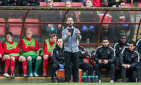 Leyton Orient Omer Riza takes charge as Manager for the first time (Orient's 5th of the Season) during the Sky Bet League 2 match between Leyton Orient and Wycombe Wanderers at the Matchroom Stadium, London, England on 1 April 2017. Photo by Andy Rowland.