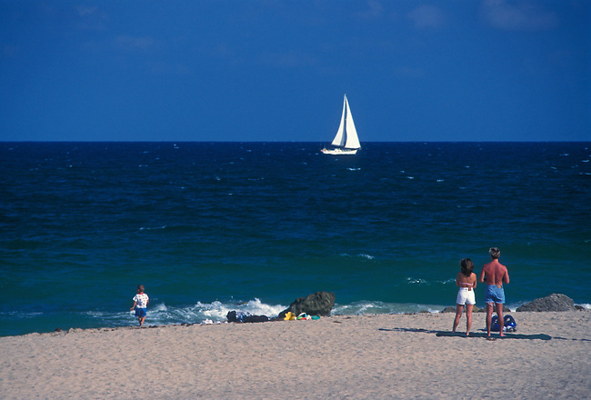Beach, Fort Lauderdale, Florida, United States, North America