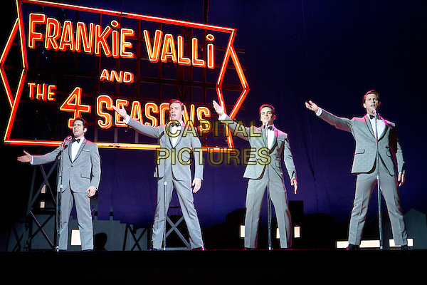 Erich Bergen, John Lloyd Young, Michael Lomenda, Vincent Piazza <br /> in Jersey Boys (2014) <br /> *Filmstill - Editorial Use Only*<br /> CAP/NFS<br /> Image supplied by Capital Pictures