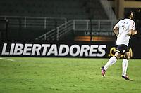 SÃO PAULO,SP,27 FEVEREIRO 2013 - COPA LIBERTADORES AMÉRICA 2013 - CORINTHIANS (Bra) x MILLONARIOS (Col) - Alexandre Pato jogador do Corinthians durante partida Corinthians x Millonarios válido pela 2º rodada da Copa Libertadore América 2013 no Estádio Paulo Machado de Carvalho (Pacaembu) na noite desta quarta feira (27).FOTO ALE VIANNA - BRAZIL PHOTO PRESS.