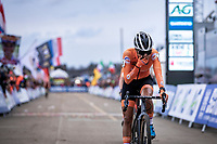 Ceyling Del Carmen Alverado (NED) wins the Women's Elite Race and is the new World Champion Women Elite. <br /> <br /> UCI 2020 Cyclocross World Championships<br /> Dübendorf / Switzerland<br /> <br /> ©kramon